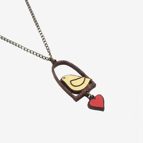 Homing Dove Necklace